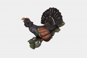 Half relief western capercaillie